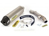 Kit Exhaust Arrow Muffler AK + Mid Pipe Kawasaki Z 750 '07/12 R '11/12