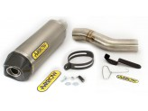 Kit Exhaust Arrow Muffler PK + Mid Pipe Ducati Diavel '11/14