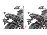 PLR2139 - Givi side case holder for MONOKEY cases Yamaha Tracer 900 / GT (2018)