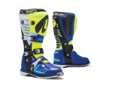 Boots Forma Off-Road Motocross MX Predator 2.0 Yellow Fluo White Blue