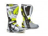 Boots Forma Off-Road Motocross MX Predator 2.0 Grey White Yellow Fluo