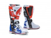 Boots Forma Off-Road Motocross MX Predator 2.0 White Red Blue