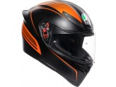 Helmet Full-Face Agv K1 Warm Up Matt Black Orange
