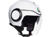 Helmet Jet Agv Orbyt Pearl White