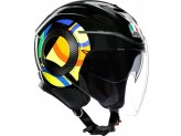 Helmet Jet Agv Orbyt Sun And Moon 46