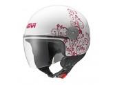 Helmet Jet Givi 10.7 Mini-J Graphic Art Nouveau Pink