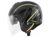 Helmet Jet Givi 20.9 Fiber-J Gliese Glossy Black