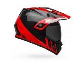 Helmet Full-Face Bell MX-9 Adventure Mips Dash Gloss Black Red White