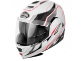 Helmet Flip-Up Full-Face Airoh Rev Revolution White Gloss