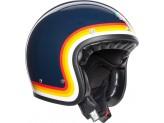 Helmet Jet Agv Legends X70 Riviera Rainbow Blue