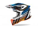 Helmet Full-Face Off-Road Airoh Strycker Shaded Blue Matt