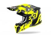 Helmet Full-Face Off-Road Airoh Strycker XXX Yellow Matt