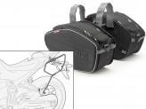 Saddle Bags Givi EA101B + Specific holder for Yamaha MT-07 (14 > 16)