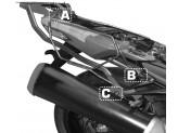 TE4106 - Givi Holder for side bags Kawasaki ZZR 1400 (12>16)