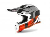 Helmet Full-Face Off-Road Airoh Terminator Open Vision Shoot Orange Matt