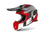 Helmet Full-Face Off-Road Airoh Terminator Open Vision Shoot Red Matt