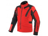 Motorcycle Jacket Man Dainese TONALE D-DRY Black Lava-Red