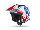 Helmet Jet On-Off Airoh Trr S Convert Blue Gloss