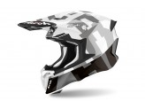Helmet Full-Face Off-Road Airoh Twist 2.0 Frame Grey Gloss