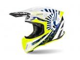 Helmet Full-Face Off-Road Airoh Twist 2.0 Katana Blue Gloss