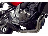 Y104090CV - Full Exhaust System Termignoni RELEVANCE S. Steel Carbon YAMAHA MT07