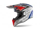 Helmet Full-Face Off-Road Airoh Wraap Street Grey Metal Gloss