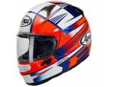 Helmet Full-Face Arai Profile-V Rock Red White Blue
