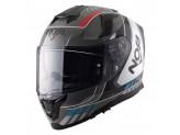 Helmet Full-Face Nos NS10 Mig Red Blue