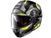 Helmet Flip-Up Full-Face X-Lite X-1004 Dedalon 32 Matt Black Yellow