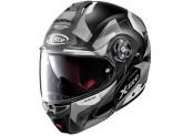 Helmet Flip-Up Full-Face X-Lite X-1004 Dedalon 30 Matt Black White