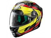 Helmet Full-Face X-Lite X-803 Ultra Carbon Caesar 62 Black Yellow White