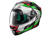 Helmet Full-Face X-Lite X-803 Ultra Carbon Caesar 59 Black Red White Green