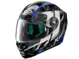 Helmet Full-Face X-Lite X-803 Ultra Carbon Provocator 57 Black Blue