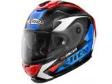 Helmet Full-Face X-Lite X-903 Ultra Carbon Nobiles 28 Black Red Blu