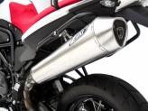 ZBMW524SSO-S - Exhaust Muffler Zard Conical Stainless Steel BMW F 800 GS (08-15)
