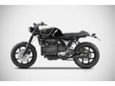 ZBMW531SKR - Exhaust Muffler Zard Stainless Steel BMW K100 (82-92)