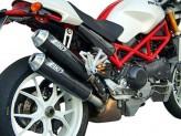 ZD028HSO-1 - Exhaust Mufflers Zard Overlapped Carbon Ducati Monster Testastretta