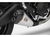 ZD789TKR - Full Exhaust Zard Conical Titanium Ducati Monster 797 (17-19)