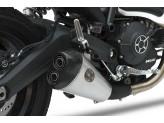 ZD793SSO - Exhaust Muffler Zard LOW MOUNTED EURO 4 Ducati Scrambler 800 (15-19)