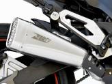 ZKAW175SSO - Exhaust Muffler Zard Short Stainless Steel Kawasaki Z 800 (12-16)