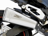 ZKAW176SSO - Exhaust Muffler Zard Short Stainless Steel Kawasaki Z 800 E (12-16)