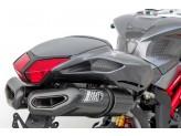 ZMV063SKR - Full Exhaust Zard Penta Carbon Carbon End Cap MV Agusta F$ (10-13)