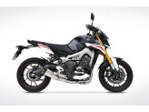 ZY096SKR - Full Exhaust Zard Stainless Steel Yamaha MT 09 (13-16)