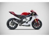 ZY100TSR - Full Exhaust Zard No-kat Titanium Yamaha R1 (15)