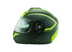Helmet Flip-Up Full-Face Nos NS-8 Triton Fluor Yellow Matt