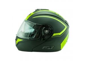 Helmet Flip-Up Full-Face Nos NS-8 Triton Fluor Yellow Matt