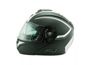 Helmet Flip-Up Full-Face Nos NS-8 Triton White Matt