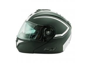 Helmet Flip-Up Full-Face Nos NS-8 Triton White Matt