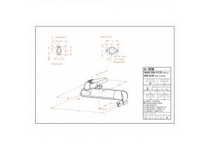 0238C - Full Exhaust LeoVince Sito Black VESPA 125 ET3 MOD. 50/90