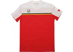 T-Shirt AGV FAST-7 White Red